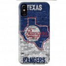 Texas Rangers Brick Wall iPhone XS Cases, XS Max, XR, X, iPhone 6 7 8 Plus Case