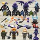 Nexo Knights Aaron Fox Harpies Minifigures Lego Compatible Toy