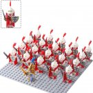 The Crusaders Catholic Church Soldiers Minifigures Lego Compatible Medieval Knights Soldiers