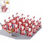 21pcs Medieval Knights Soldiers Minifigures Lego Compatible Medieval Castle set
