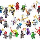 24pcs Ninjago Minifigures Lego Compatible Ninjago movie set
