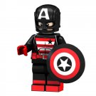 Avengers Black Captain America Minifigures Compatible Lego Toy Movie set