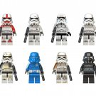 Clone Trooper Imperial Stormtrooper Minifigures Compatible Lego Star Wars sets