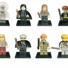 Professor Snape Ginny Weasley Minifigures Compatible Lego Harry Potter building block Toy