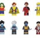 Bluebird Banshee Nightcrawler Minifigures Compatible Lego Marvel building block Toy