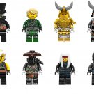 Wu(Teen) Iron Baron Lloyd Minifigures Compatible Lego Ninjago building block Toy