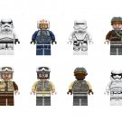 Rebel Troopers Rebel Pilot Minifigures Compatible Lego Star Wars building block Toy