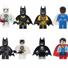 Val-Zod Supergirl Minifigures Compatible Lego Batman movie building block Toy