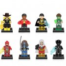 The scarecrow Firestorm Lobo Minifigures Compatible Lego Super Heroes building block Toy