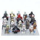 24pcs Star Wars The Clone Wars Minifigures Compatible Lego Star Wars building block Toy