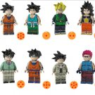 Goku Raditz Son Gohan Minifigures Compatible Lego Dragon Ball building block Toy