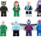 Professor X Mystique Angel Minifigures Compatible Lego X-Men Apocalypse building block Toy