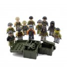 Mercenary army Soldiers minifigures Compatible Lego minifigure building block Toy