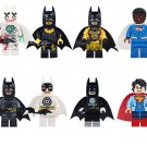 Superman Batman Minifigures Compatible Lego Super Heroes Minifigures Toy