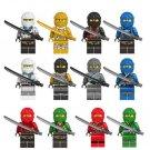 Ninjago Zane Jay Lloyd Minifigures Compatible Lego Ninjago Minifigures Toy
