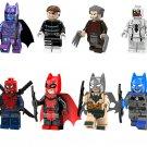 Batman Punisher Anti-Venom Minifigures Compatible Lego DC building block Toy