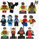 13pcs Robin DC Super Heroes Minifigures Compatible Lego Minifigures Toy