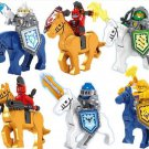 Sels Crae Macey Steed minifigures Nexo Knights Lego Compatible Toys