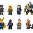 Lego Compatible Toys Thor Ragnarok Loki Jane Foster Grandmaster Marvel minifigures