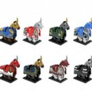 Rome Commander Medieval Knights Lego Princess Compatible Centurion Crusader Horse