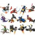 Batman Movie Joker Robin Poison Ivy With Marvel Lego Batman Sets Compatible Minifigures