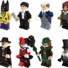 Barbara Gordon Riddler Bataman Penguin arley Quinn Commissioner Lego Marvel Minifigures Fit