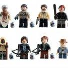 The Walking Dead Minifigures Lego Compatible building blocks Minifigures