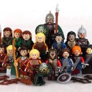 16pcs Lord of the Ring minifigures Lego Compatible Hobbit Sets