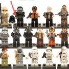 16pcs Star Wars Clones Stormtrooper Minifigures Lego Star Wars Compatible Toys