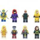 Marvel Heros Minifigures X-Men Building Lego Minifigures Compatible Building Toys