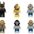 Joker Killer Croc Panda Tommy Gun Lego Compatible Minifigures