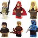 Game of Thrones Minifigures Lego Compatible toys