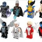 Apocalypse Storm Wolverine Minifigures X-Men Sets Lego Compatible Toys