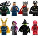 Thor Rocky Loki Valkyrie Flash Thor ragnarok minifigures Lego Compatible Toys