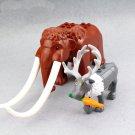 Elaphurus davidianus Mammuthus primigenius building block Toy Compatible Lego Animal sets