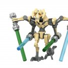 Star Wars General Grievous Minifigures Compatible Lego Star Wars Toy
