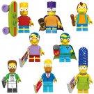 New The Simpsons minifigures Compatible Lego Comic minifigure