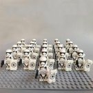 21pcs First Order Stormtrooper Sergean Minifigures Compatible Star Wars Clone Trooper Lego Toy