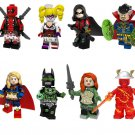 The Dawnbreaker Deadpool The Flash Minifigures Compatible Lego Super heroes Toy