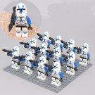 Clone Trooper 501st Legion Minifigures Lego Compatible Star Wars sets