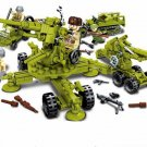 WW2 USSR Howitzer Air defence force Minifigures Lego Compatible military sets