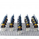 21pcs Pirates of the Caribbean Royal Navy Minifigures Lego Compatible military sets