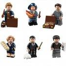 Newt Scamander Percival Graves Minifigures Lego Compatible Harry Potter Toy