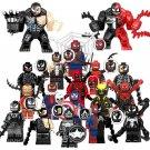 18pcs Commensal Spider-Man Venom Minifigures Lego Compatible movie Super Heroes Sets