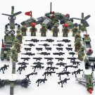 Special Forces Soldiers Minifigures Helicopter Speedboat Toy Lego Compatible WW2 Military