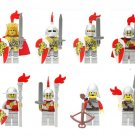 Medieval Castle Paladin soldiers Minifigures Lego Compatible  Medieval Knights