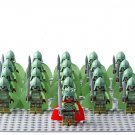 21pcs The Hobbit Dead King Dead soldiers Lego Minifigures Compatible