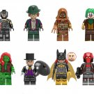 Batwoman Red Hood Poison Ivy Minifigures Lego Compatible DC Super Heroes sets