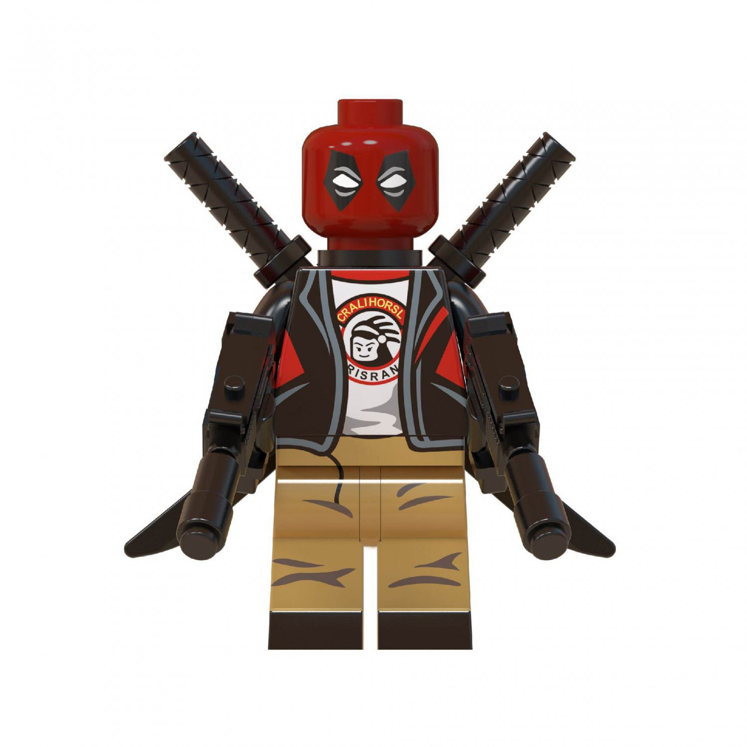 Wade Winston Wilson Deadpool Minifigures Lego Compatible Marvel Hero Toy