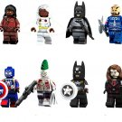 Storm Batman Joker Minifigures Compatible Lego movie sets